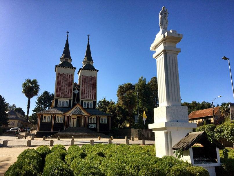 Iglesia San Sebastian чили церковь сан себастьян