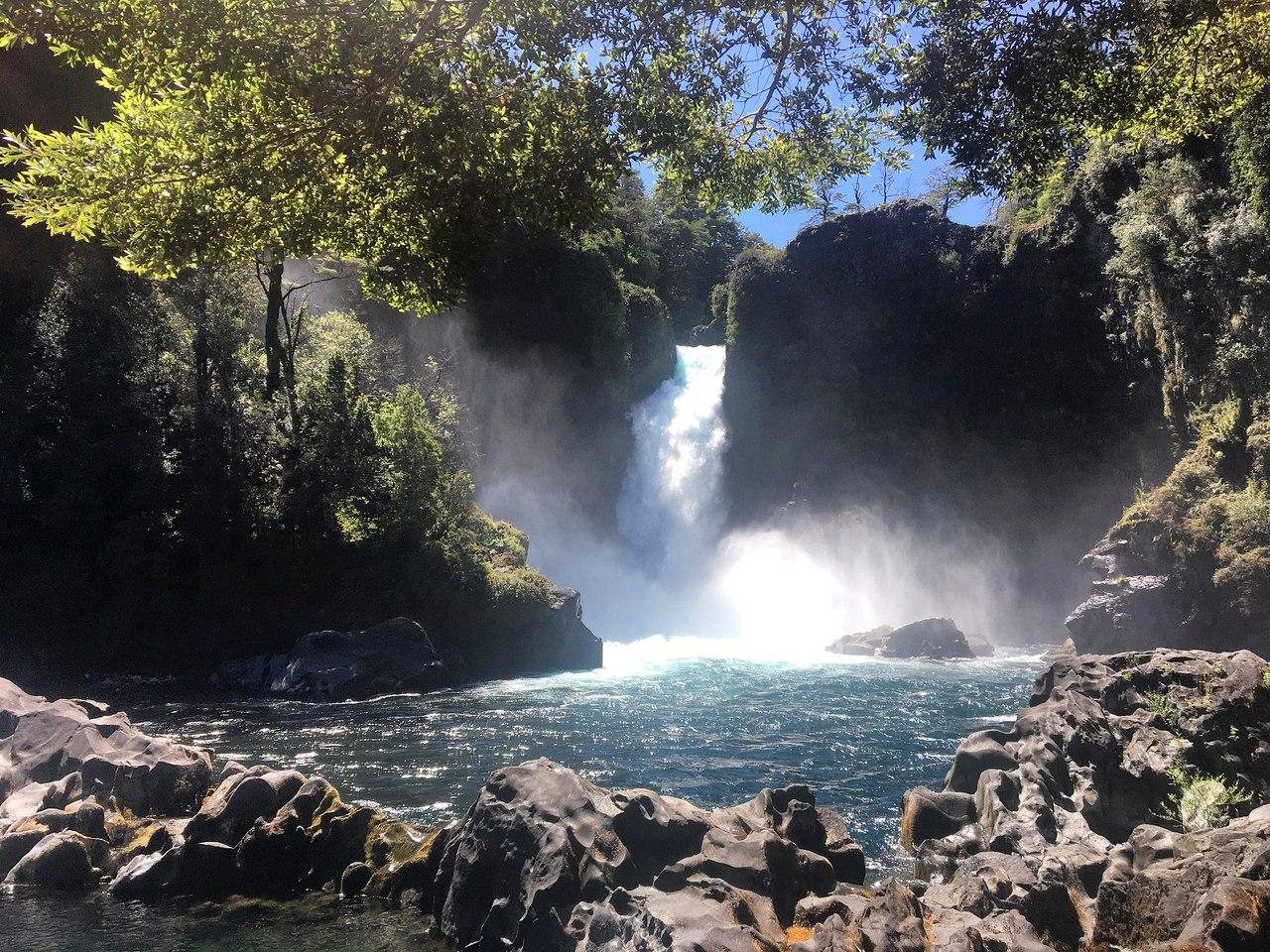 водопад Huilo Huilo