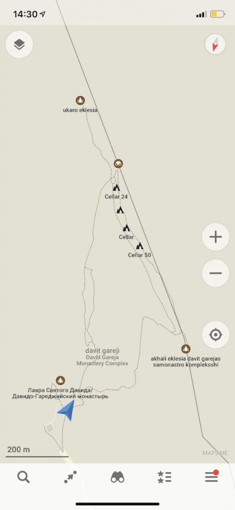 трек вокруг монастыря Давив Гареджи