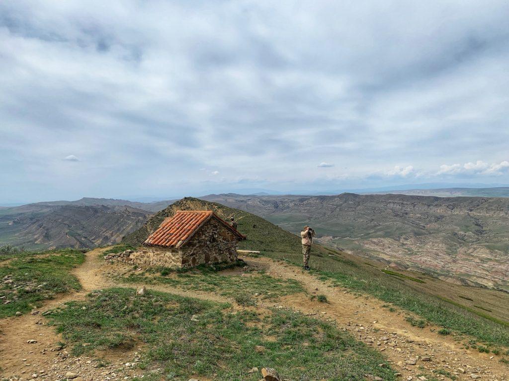 грузинские пограничники на страже Грузинско-Азербайджанской границы