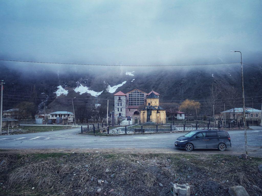 Село Сно, Грузия