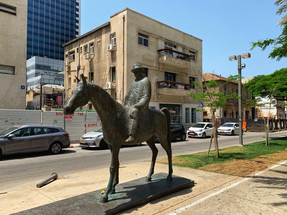 первый мэр Тель-Авива