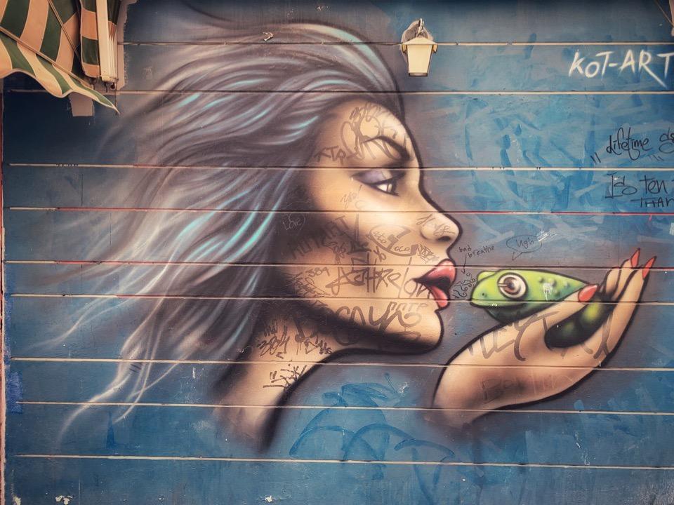 граффити с района Флорентин